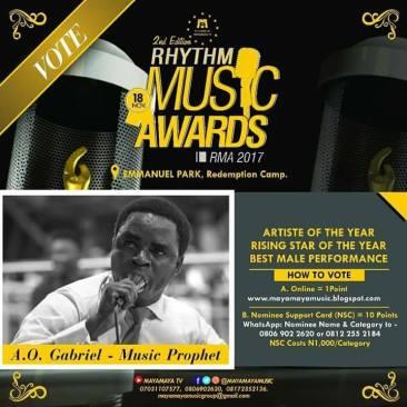 Artiste of the Year Award