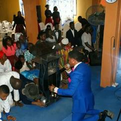 Music Prophet and FPGB Minstrels ministering live at New Covenant Apostolic Ministry. NCAM...