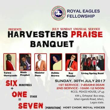 Harvesters Praise Banquet