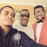Musicprophet with Bishop Washington S.A, & Engr Koso Molli.