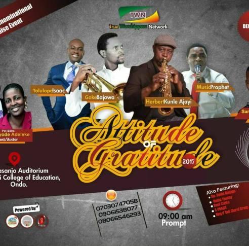 Attitude of Grattitude 2