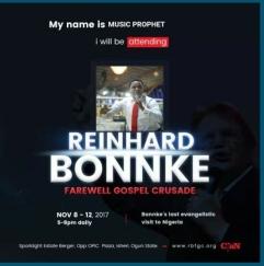 Reinhard Bonke 2017